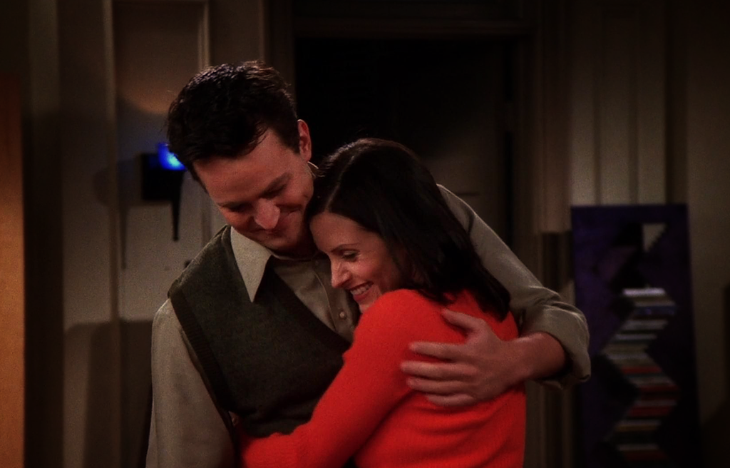First time monica and chandler hook up