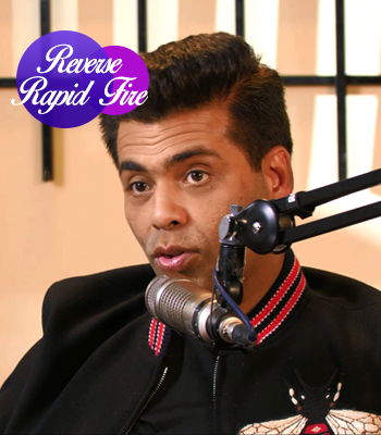 Gender Stereotypes | Reverse Rapid Fire with Karan Johar | #CallingKaran