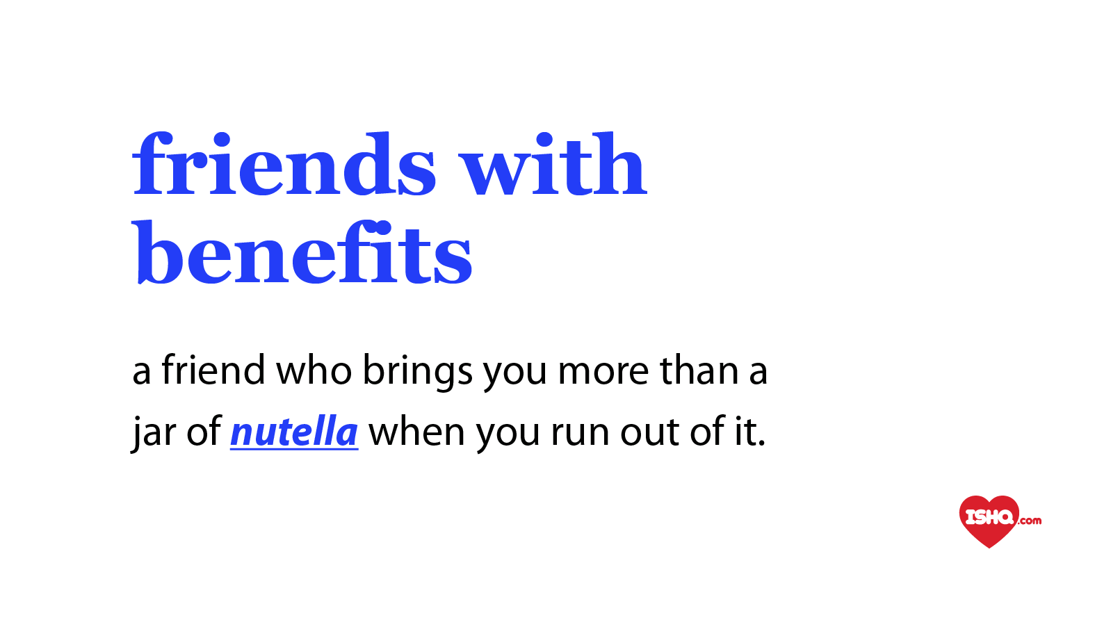 What is a friend with benefits relationship